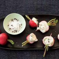 Radishes with Mint Butter