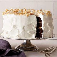 Almond Joy Layer Cake