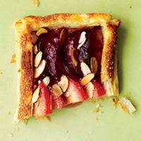 Pluot Tart