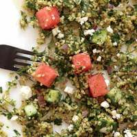 Feta-Watermelon Tabbouleh