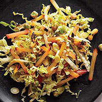 Red Plum-and-Napa Cabbage Slaw