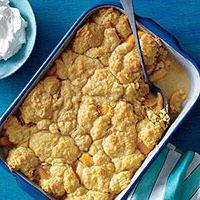 Peaches 'n' Cream Cobbler