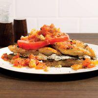 Mediterranean Chicken Stacks