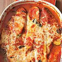 Baked Eggplant and Zucchini