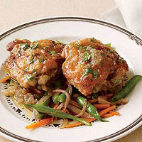 Beer-Braised Chicken Thighs