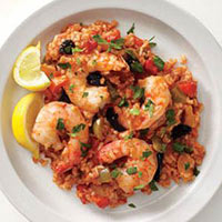 Spanish Rice with Shrimp