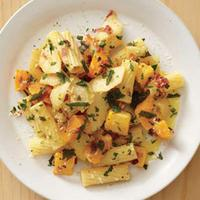 Rigatoni with Apple and Squash
