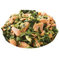Spinach-and-Salmon Scramble