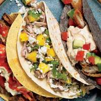 Cuban Pork & Pineapple Tacos