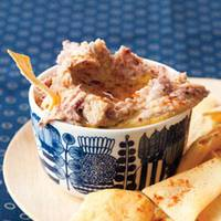 Red-and-White Hummus