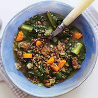 Sausage-and-Lentil Stew