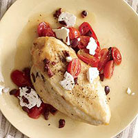 Praise-the-Braise Chicken with Feta and Tomato