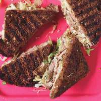 Sliced Steak Reubens with Russian Dressing
