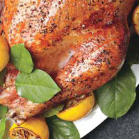 Kiss-of-Lemon Roast Turkey