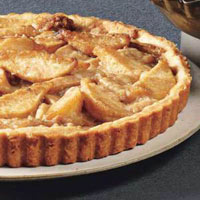 Streusel Pear Tart
