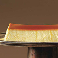 Silky Maple Flan