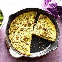 Turkey Frittata with Chard