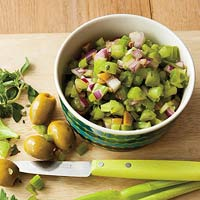 Celery & Olive Chop