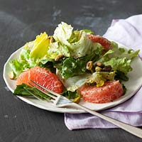 Escarole Salad with Grapefruit & Pistachios