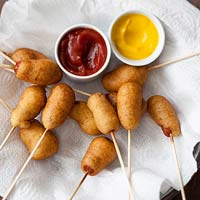 Apps in a Snap: Mini Corn Dogs