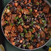 Bacony Black Bean Dip