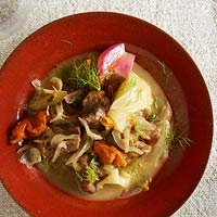 Pork Stew with Fennel & Apricots