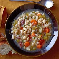 White Bean & Ham Soup