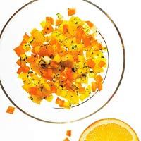 Spicy Orange & Mango Salsa