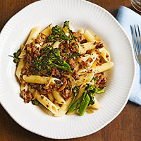 Penne with Turkey & Broccolini