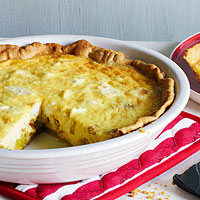 Leek & Goat Cheese Tart