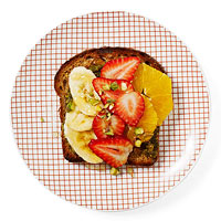 Fruit & Pistachio Toast