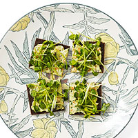 Very Veggie Tea Sandwiches