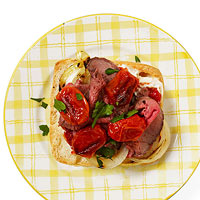 Roast Beef & Spicy Tomato Sammy