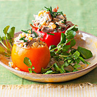 Chicken Salad-Stuffed Tomatoes