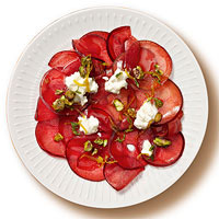 Plum Carpaccio