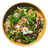 Farro Salad with Arugula & Tuna