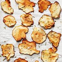 Rosemary Sunchoke Chips