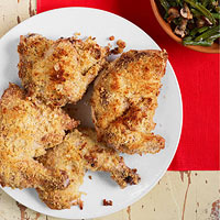 Roasted Supper: Crispy Chicken or Fish with Dijon & Tarragon