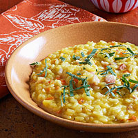 For Saffron Lovers: Pumpkin Risotto