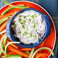 Triple-Onion Dip