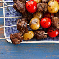Steak & Potato Kebabs