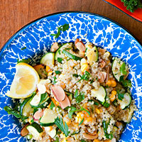 Green & Gold Quinoa Salad