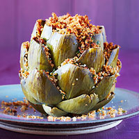 Grandpa's Stuffed Artichokes