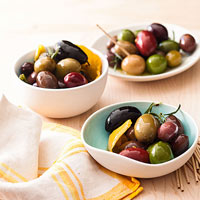 Apps in a Snap: Spiced Olives