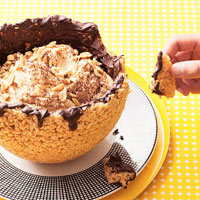 Chocolate-Peanut Butter Bowl
