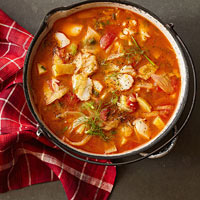 Mediterranean Seafood Stew