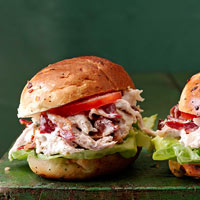 Ranch Chicken Salad BLT's