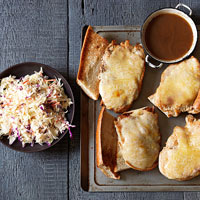 Turkey French Dip with Slaw