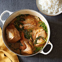 Coconut Milk Braised Turkey with Rice