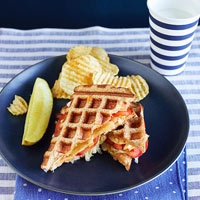 Waffled Tuna Melts